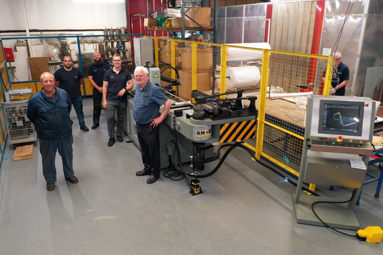 AMOB at Metal Craft Industries UK