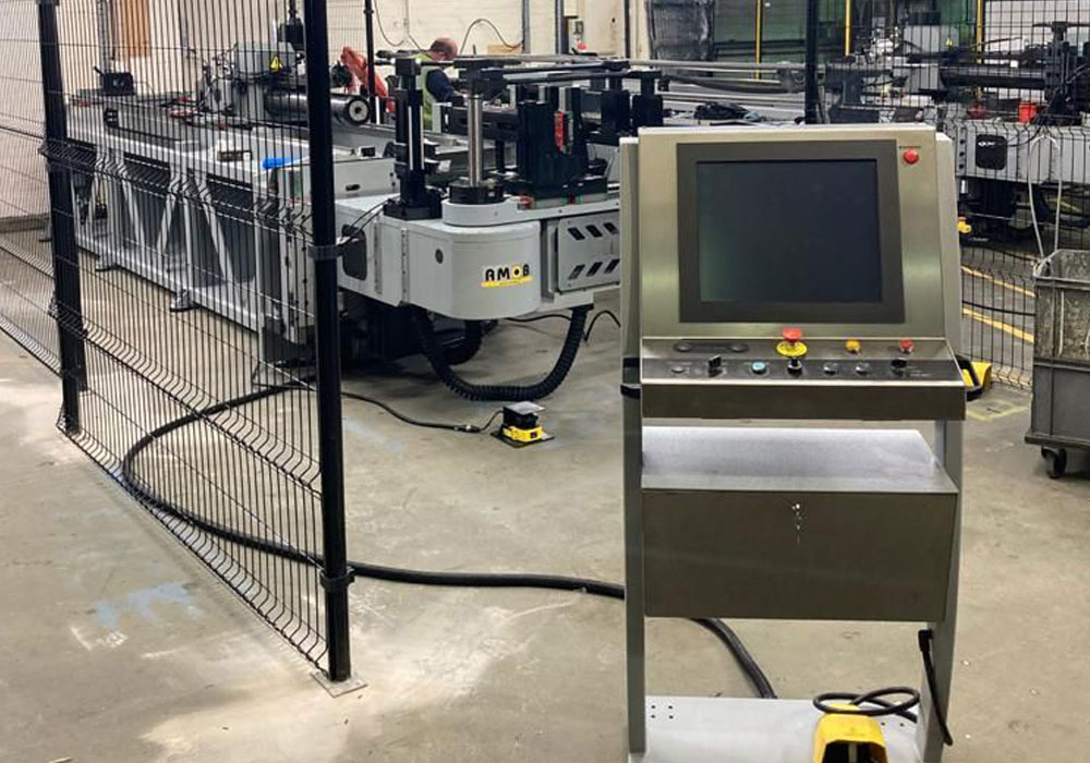 Second CNC Tube Bending Machine to BM Catalysts Ltd.