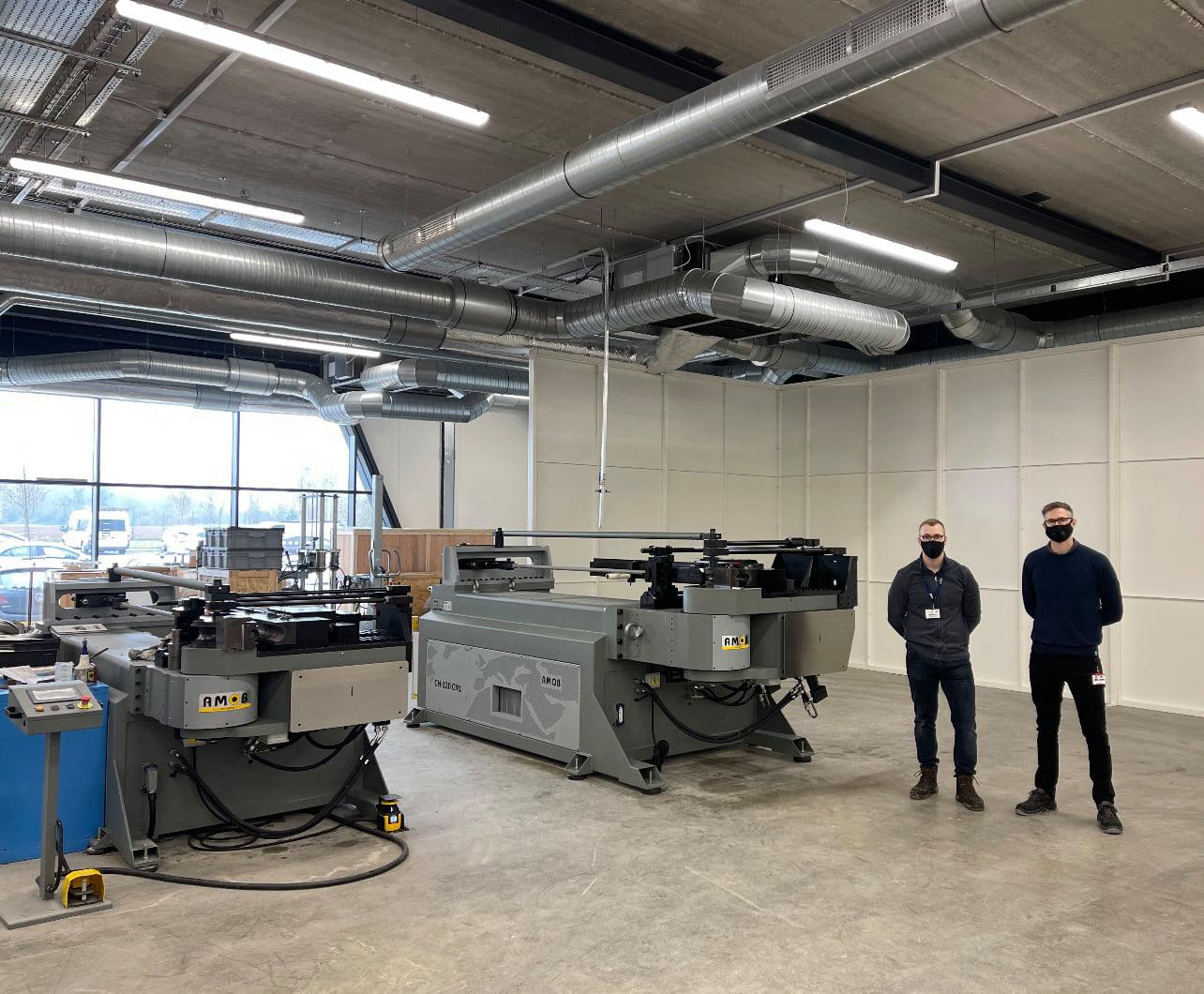 SST Technology and the third tube bending machine!