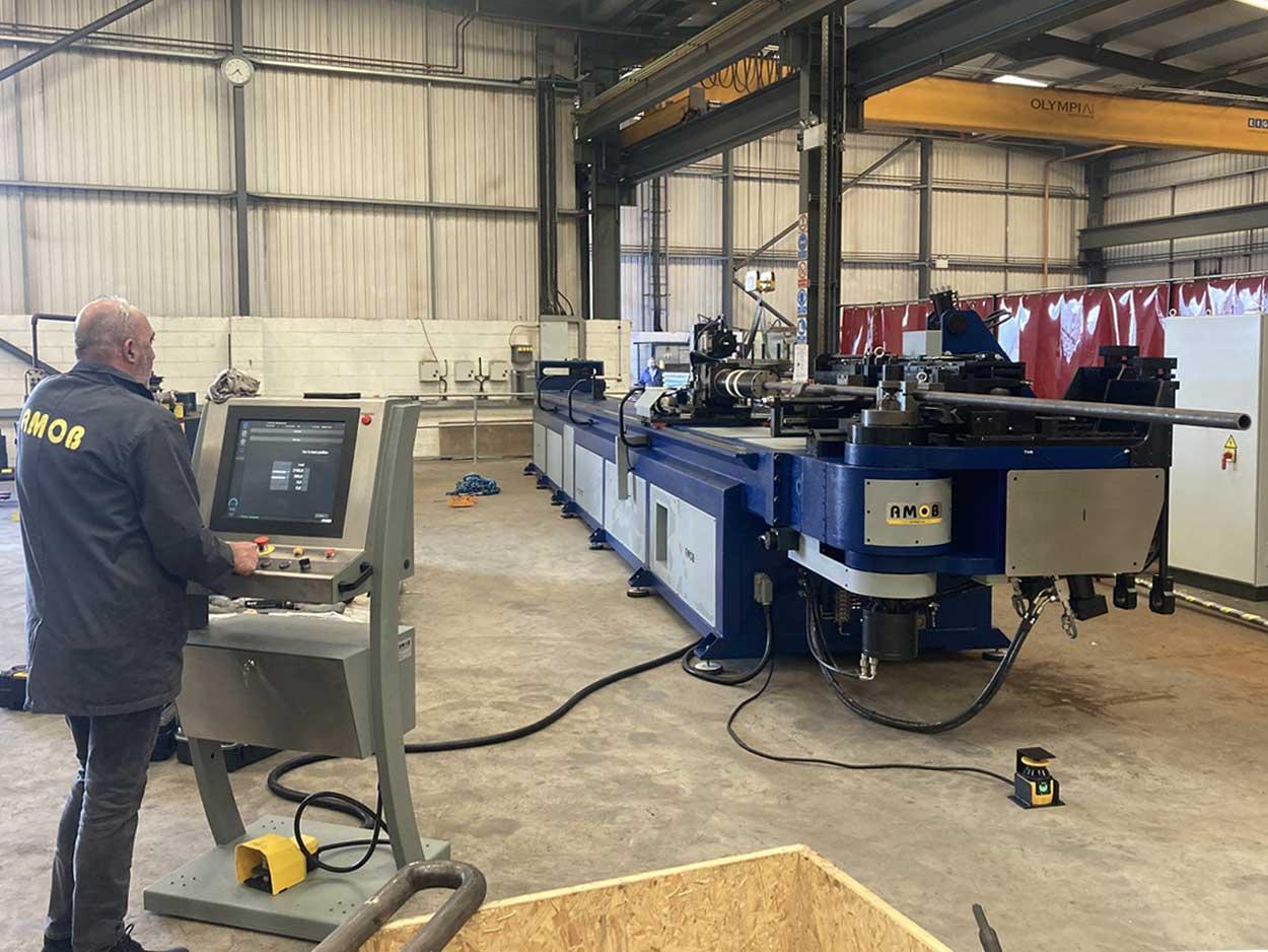 Boiler Tube Bending Machine for  CNC fabrication of high-end boiler